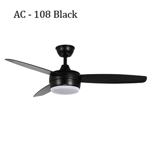 Acorn Ceiling Fan - AC – 108 Luminous Black