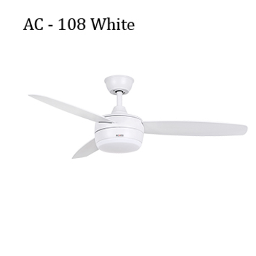 Acorn Ceiling Fan - AC – AC – 108 Luminous White