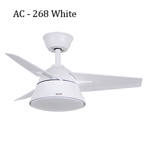 Acorn Ceiling Fan - AC – 268 WH