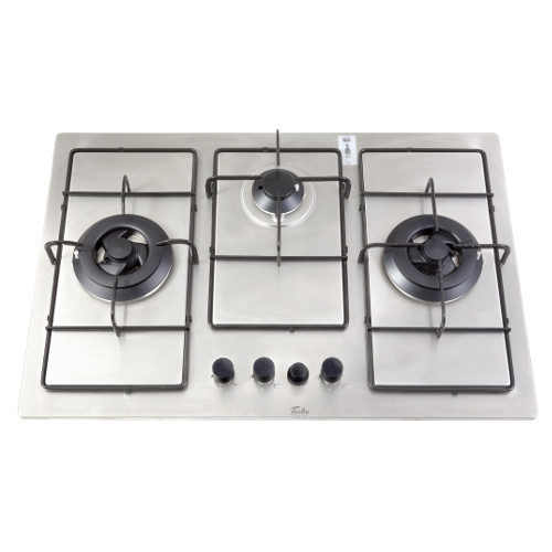Turbo Incanto T7339SS 76cm 3 Burners Built-In Hob