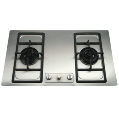 Turbo Incanto T8729SS 87cm 2 Burners Built-In Hob