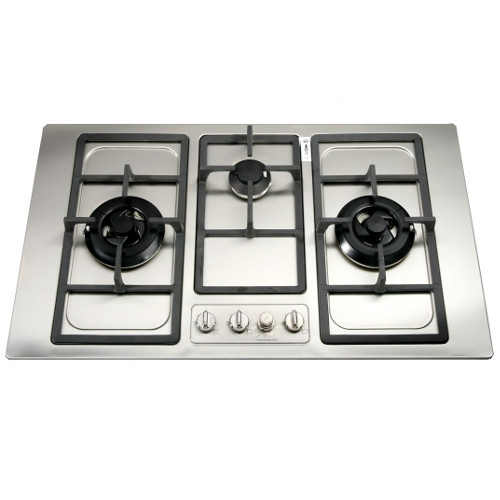 Turbo Incanto T8733SS 87cm 3 Burners Built-In Hob