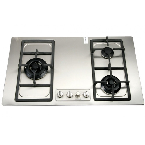 Turbo Incanto T8739LSS 87cm 3 Burners Built-In Hob