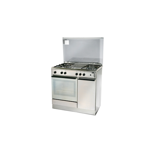 Turbo Incanto T9640WSSV 90cm Free Standing Cooker With Gas Oven