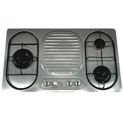 Turbo Incanto T7903LSS 79cm 3 Burners Built-In Hob